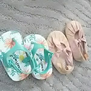 Other - Baby girl size 3/6 months shoes